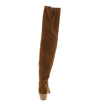 Steve Madden kvinner Lucca fabric pekte tå kne høy mote støvler