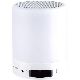 Portable Wireless Bluetooth Speakers Bedside Lamp Touch Control Color Led Speaker