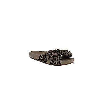 Loeffler Randall | Knotted Leopard-Print Slides