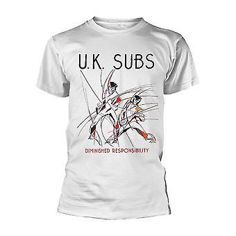 Uk Subs verminderte Verantwortung offiziellen T-Shirt T-Shirt Unisex