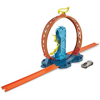 Hot Wheels Track Builder Loop Kicker Playset