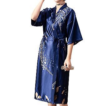 YANGFAN Women's Printed Long Robes Nightgown