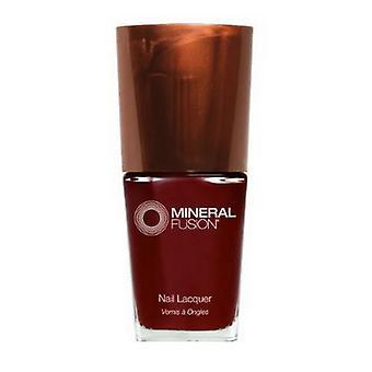 Smalto per unghie mineral fusion, pantofole rubino .33 Oz