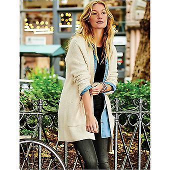 Brand - Goodthreads Women's Boucle Shaker Stitch Cardigan Sweater