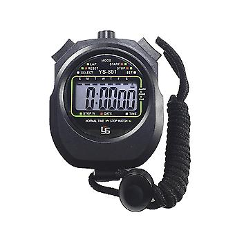 Waterproof Timer Two-way Stopwatch Professional Movement Sports Multi-function Electronic Timer For Outdoor Sports