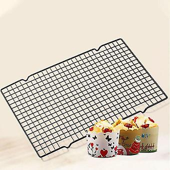 27*25cm Nonstick Wire Cookie Cooling Rack for Baking Oven Safe BBQ Cooling Net