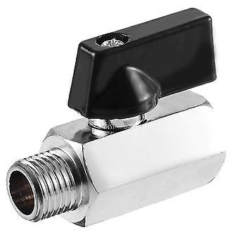 VVS-ventiler mini messing ballventil bsp mann til kvinnelig luftkompressor kontroll for olje vann sm154335