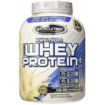 Premium 100% Whey Protein Plus, Deluxe Vanilla - 2270 grams