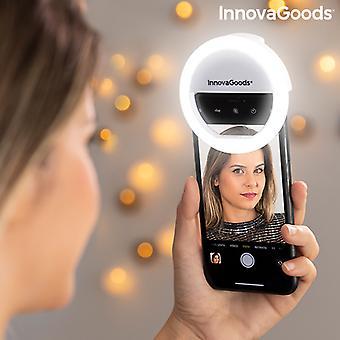 قابلة لإعادة الشحن سيلفي حلقة ضوء Instahoop InnovaGoods