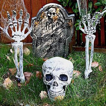 Realistic Skeleton Stakes Halloween Decorations for Lawn Stakes Garden Halloween Skeleton Decoration