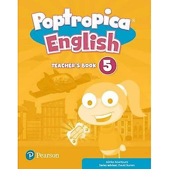 Poptropica English Level 5 Teacher's Book and Online World Access Code Pack (Poptropica)