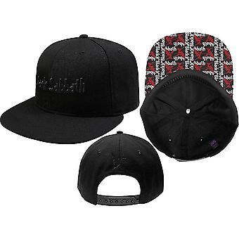 Zwarte sabbat unisex snapback cap: logo & demon