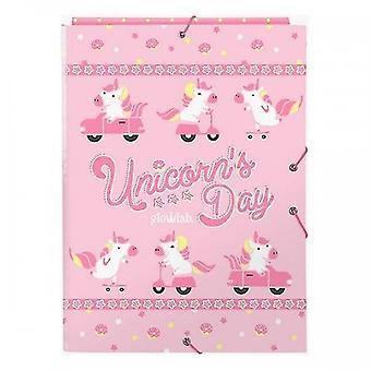 Folder Glow Lab Unicorn Day A4