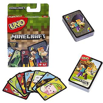 Minecraft Uno Jeu de cartes Family Fun Divertissement Jeu de société