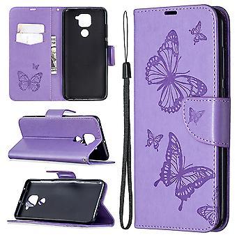 Case For Xiaomi Redmi Note 9 Butterfly Pattern