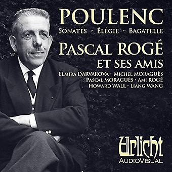 Pascal Rog? (Piano) Ami Rog? (Piano) M - Pascal Rog? Et Ses Amis Joue Poulenc [CD] USA import