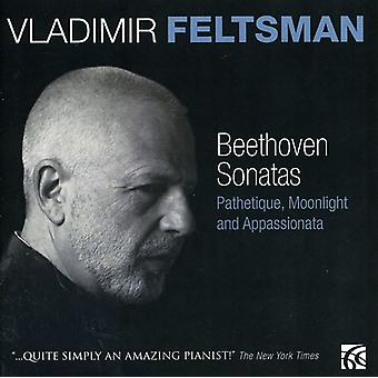 L.V. Beethoven - Beethoven: Pathetique, Moonlight & Appassionata Sonatas [CD] USA import