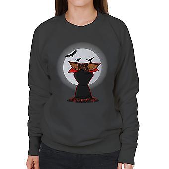 Monster Of The Night Gremlins Dracula Women's Sweatshirt