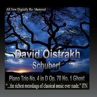 Oistrakh, David / Knushevitsky, Sviatoslav / Oborin - Schubert Trio pour Piano n° 4 en D opus 70 n ° 1 Ghost [CD] USA import