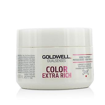 Goldwell Dual Senses färg extra Rich 60sec behandling (luminositet för grovt hår)-200ml/6.7 oz