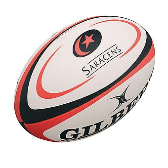 GILBERT Sarazenen-Replikat-Rugby-ball