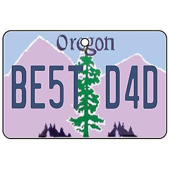 Oregon - bedste far nummerplade bil luftfriskere