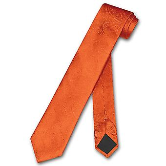 "Vesuvio Napoli smal halsduk Solid Paisley 2,5 ""smal hals slips"