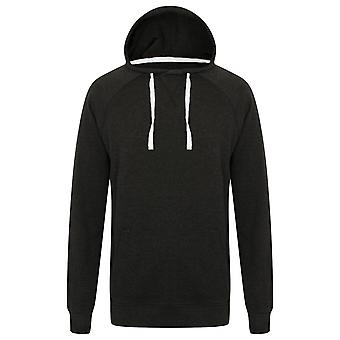 Front Row Mens Slim Fit French Terry Hoodie