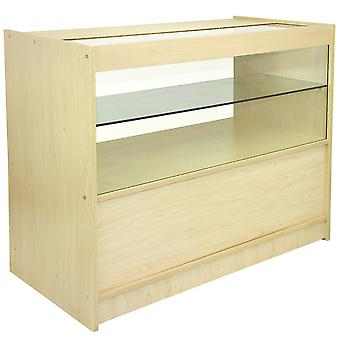 C1200 1/2 Glass Retail Display Showcase Unit
