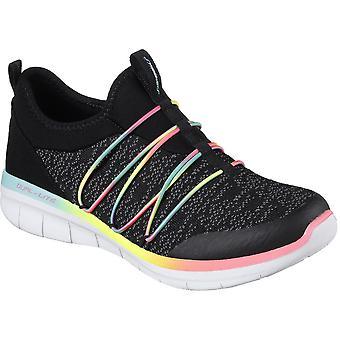 Skechers kobiet/Panie Synergy 2.0 po prostu eleganckie sportowe buty sportowe
