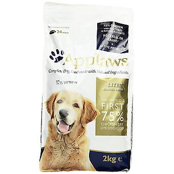 Applaws Natural Complete  Dry Dog Food Adult Chicken Light, 2kg