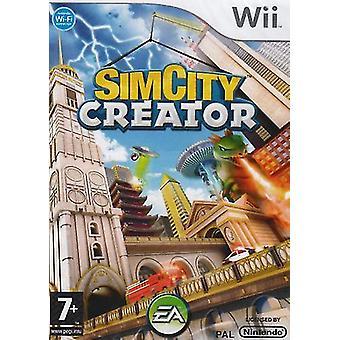 SimCity Creator (Wii) - Neu