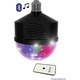 LED Bluetooth E27 LED (במונוכרום) אור צד עם רמקול 8 W Multi-צבע לא. של נורות: 1