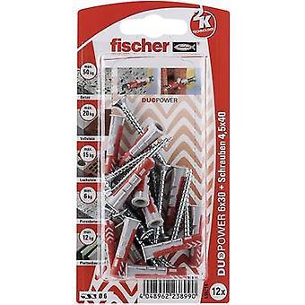 Fischer DUOPOWER passador conjunto 30 mm 535214 1 conjunto