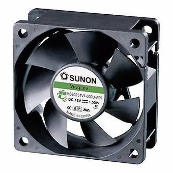 Sunon MB60251V1-0000-A99 aksial ventilator 12 V DC 39,92 m³/h (L x b x H) 60 x 60 x 25 mm