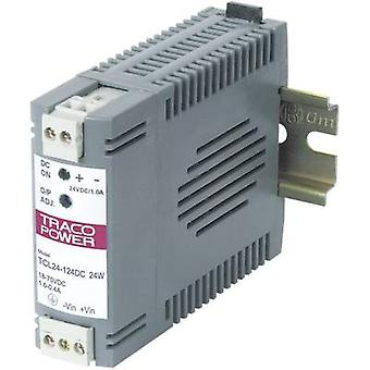 Op rails gemonteerde PSU (DIN) TracoPower TCL 024-105DC 5,25 V DC 5 A 24 W 1 x