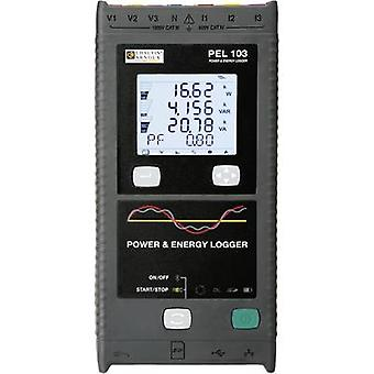 Chauvin Arnoux PEL 103 + 3x MA193-250 Mains-analysis device, Mains analyser, P01157151 Calibrated to Manufacturers standards (no certificate)