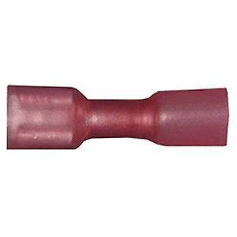 Vogt Verbindungstechnik 3963h Blade Behälter + Schrumpfschlauch Stecker Breite: 6,3 mm Stecker Stärke: 0,8 mm 180° isoliert Rot 1 PC