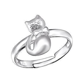 Cat - 925 Sterling Silver Rings - W28093X