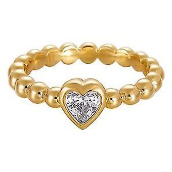 Esprit S925 Pellet Heart Gold ESRG91751