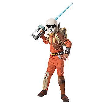 埃兹拉布里奇尔 3 件豪华服装 星球大战 叛军 原始为孩子