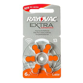 Rayovac Extra Advanced H13-6-pack