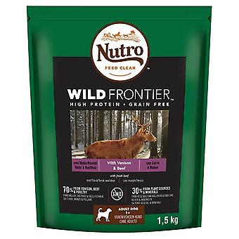 Nutro Wild Frontier ciervo adulto y 1,5 kg de carne perro alimentos secos
