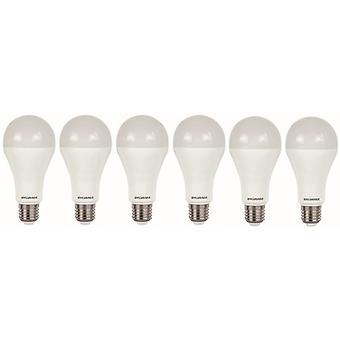 6 x Sylvania ToLEDo A66 Dimmable E27 V4 15W Homelight LED 1521lm [Energy Class A+]