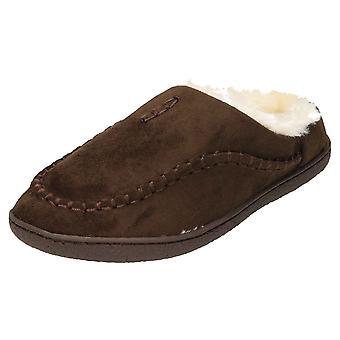 Cushion-Walk Moccasin Mule Slipper Warm Slip On Clogs