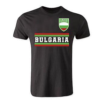 Bulgarije Core voetbal land T-Shirt (zwart)