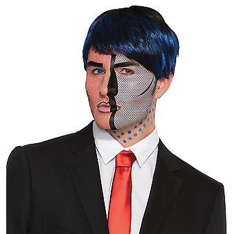 ポップアートの顔のタトゥー