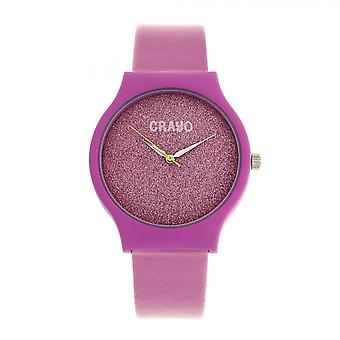 Crayo Glitter Unisex Watch - Hot Pink