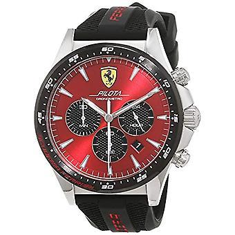 Scuderia Ferrari watch Cronógrafo cuarzo hombres 830595 silicona banda