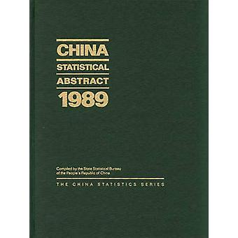 China 1989 Resumo Estatístico pelo Bureau de estatística estadual povos Republ
